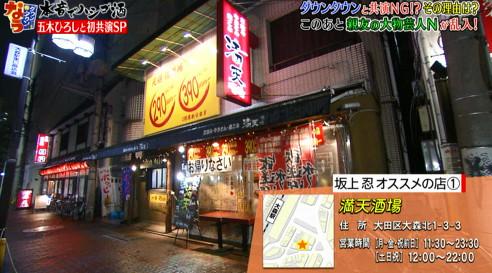 ダウンタウンなう・五木ひろしが訪れた居酒屋