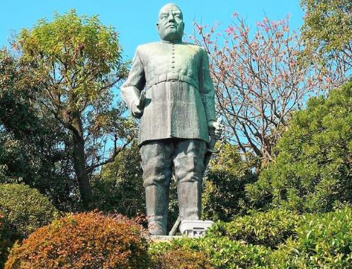 教えてもらう前と後・鹿児島の西郷像