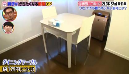 ダイニングテーブル藤田ニコル