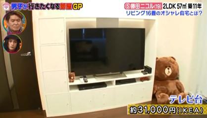 藤田ニコルテレビ台