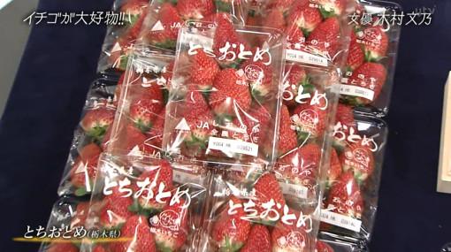 木村文乃のイチゴの名前・おしゃれイズム