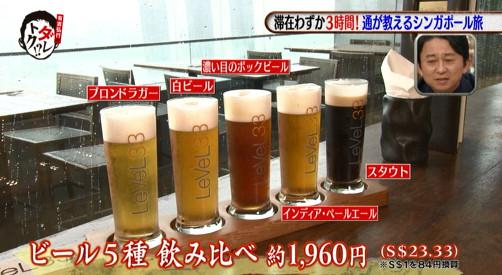 ダレトク岩井志麻子シンガポールの旅①・世界一高い醸造ビール