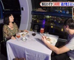 ダレトク岩井志麻子シンガポールの旅・⑥観覧車でディナー