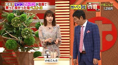 ホンマでっかTV加藤綾子が買って良かった商品3位