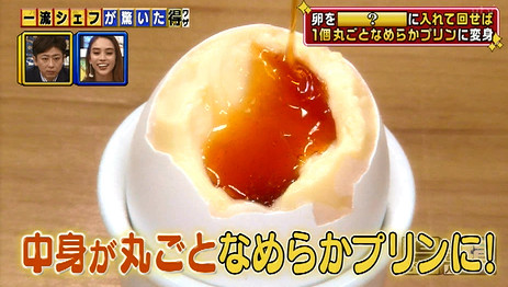 得する人損する人・卵1個で作る、なめらかプリンのレシピ