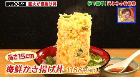 ソレダメ!天ぷら・丸天の海鮮かき揚げ丼
