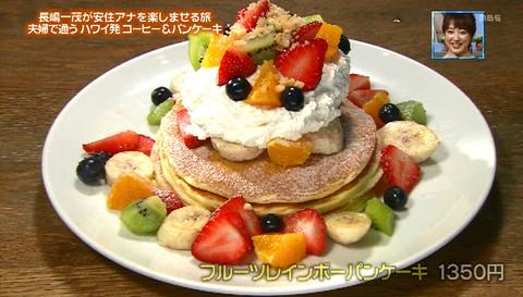 ぴったんこカンカン長嶋一茂フルーツパンケーキ
