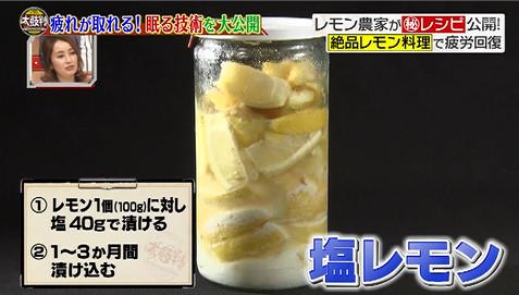 名医の太鼓判塩レモン