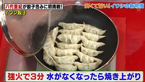 ソレダメイワシ餃子4