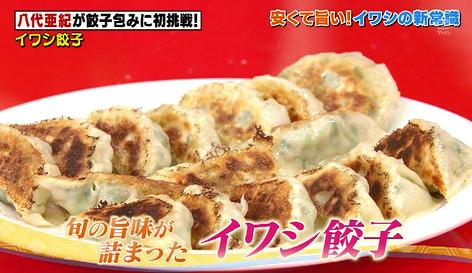 ソレダメイワシ餃子