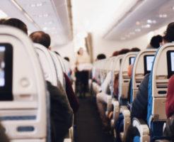 VS嵐ロスアンゼルス飛行機